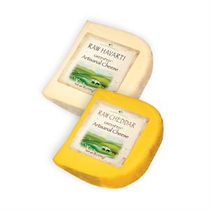 Picture of GreenFed Cheddar Reserve & Raw Jack (1 lb of each)